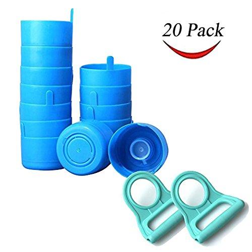 e0352800e5 Thee-home 20 Pack Non Spill Caps Anti Splash Bottle Caps Reusable for 55mm 3
