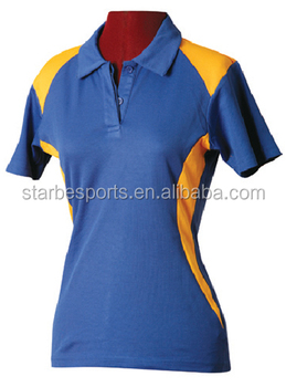 7172d0b2c Custom made women's design polo t shirt,cotton fitness unisex polo shirt