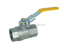 "high quality long handle brass gas valve from 1/2""-4"""