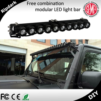Sole Manufacturers LED Light Bar Car Accessories Jeep Wrangler 2011 Roof  Rack Round Light Bar