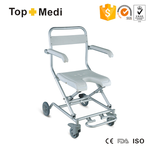 Modern Design High end Bath and Shower Disabled Chair with wheels for elder and handicapped