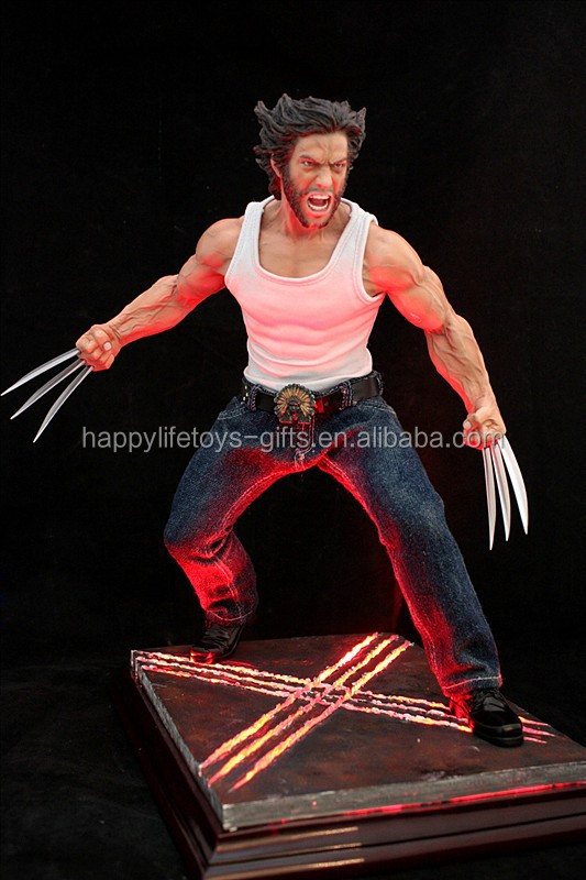 Marvel Wolverine with LED lights Ployresin figurine