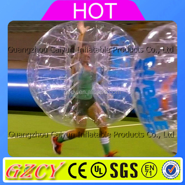 Excellent Quality Soccer Ball / Inflatable Soccer Bubble Show
