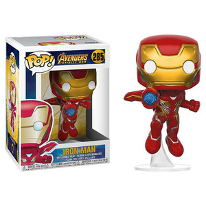 Funko POP Mavel Ironman Iron-Man Mark Iron Action Figure Doll Model Figurine Car Decoration Collectibles
