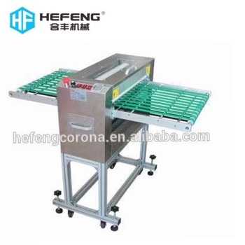 single / double sides sticky roller film dust remove machine