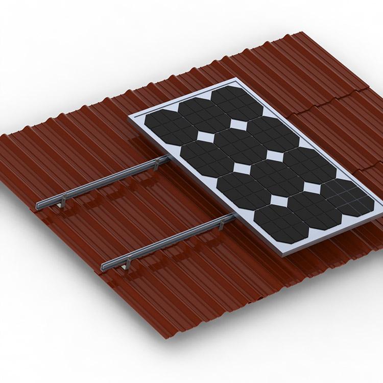 L Foot Holder Hanger Bolt Kit For Corrugated Metal Solar