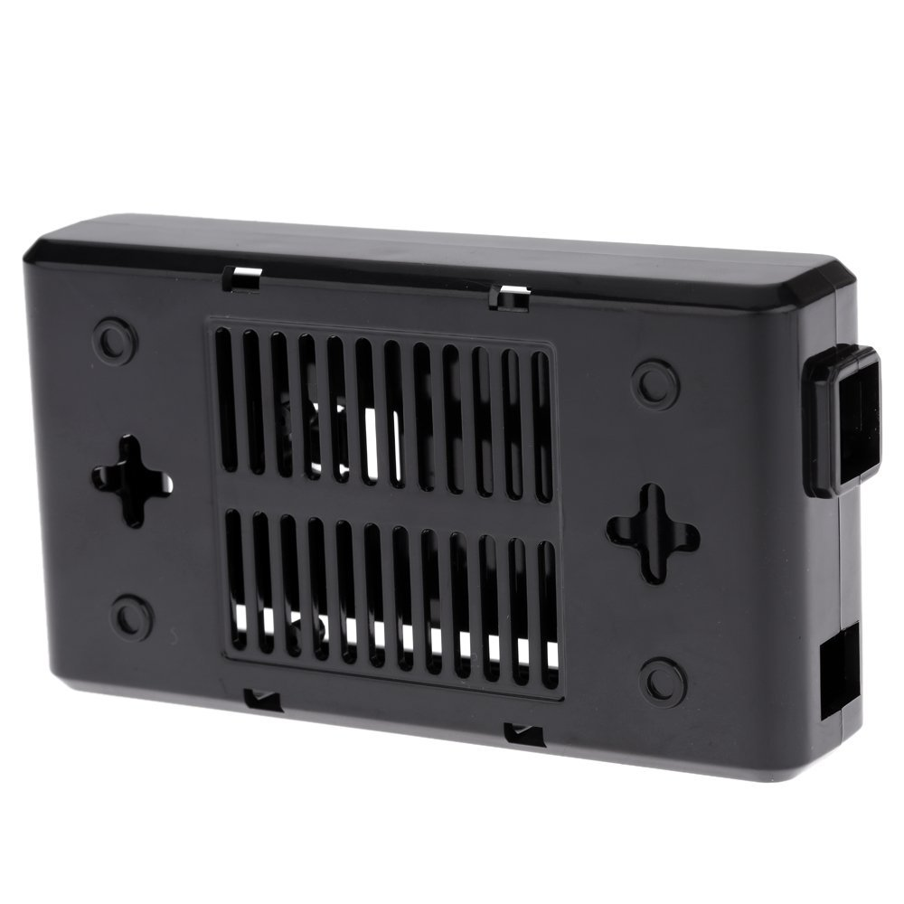 Zuwl(TM) Case for Arduino Mega2560 R3 Controller Enclosure Black Computer Box with Switch