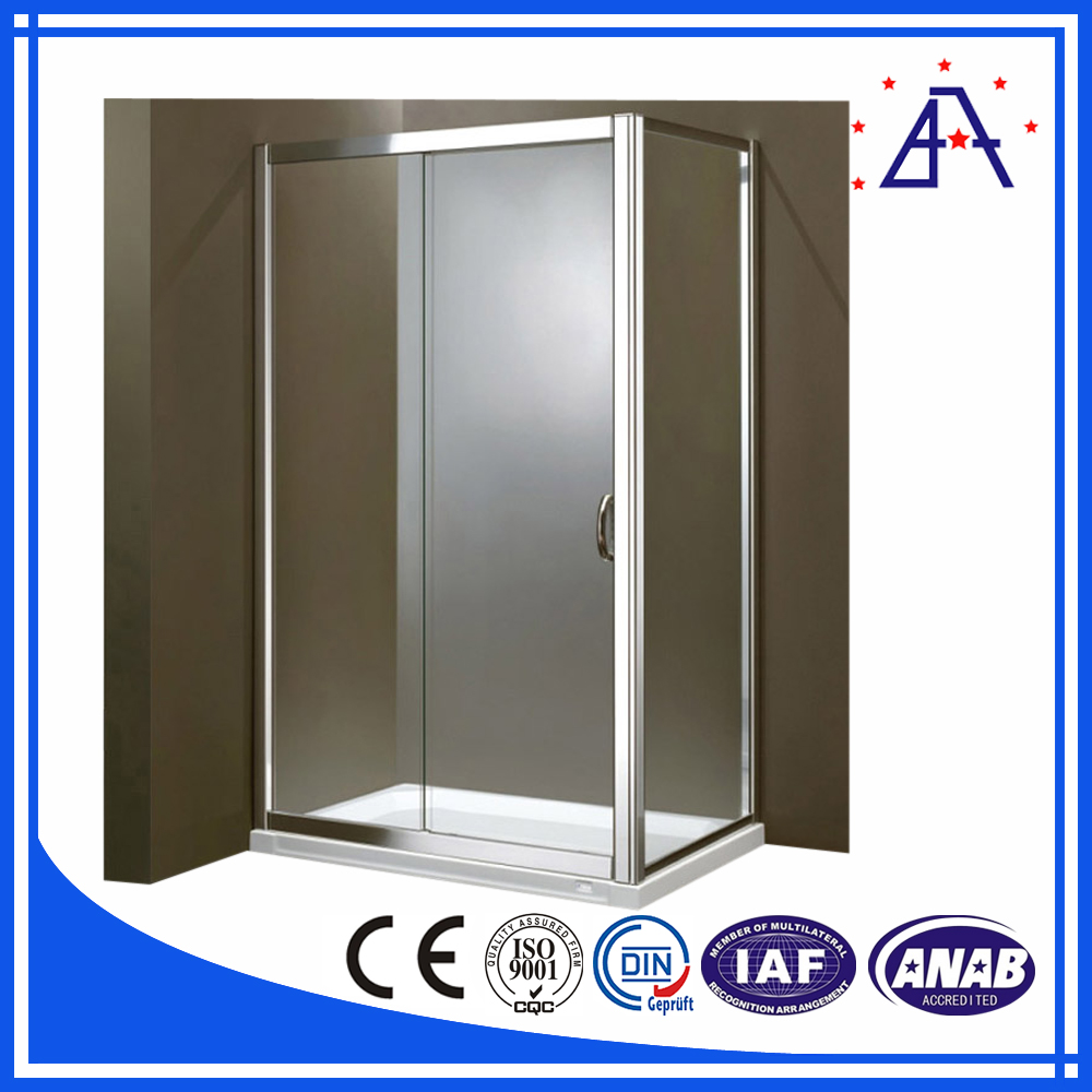 2016 Anti Rust Aluminum Profiles 6063 for Shower Cubicle with Competitive Price