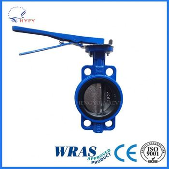 Api 609 Iso 5752 Bs5155 Cast Iron Wafer Butterfly Valve For Water ...