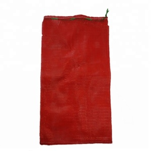 2018 hot 60kg red Tubular PP mesh bag for Vegetables and fruit