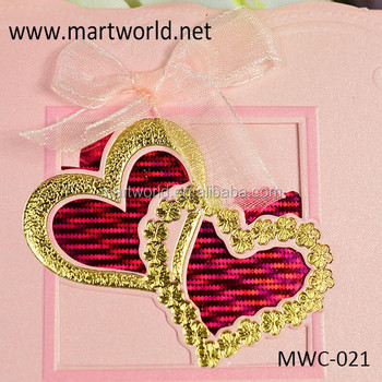 2019 Best Price Handmade Heart Shape Romantic Wedding Invitation Card For Wholesale Oem Greeting Card Design Mwc 021 Buy Elegant Romantic Wedding