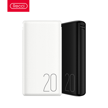 Recci high capacity portable charger power bank 20000mah