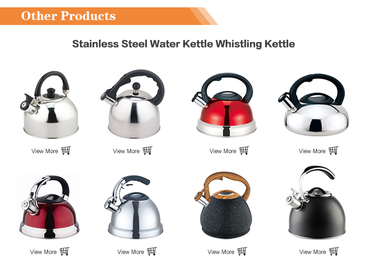 China supplier 3L copper tea kettle Stainless steel Whistling Full color painted body kettle Tea pot Tea kettle