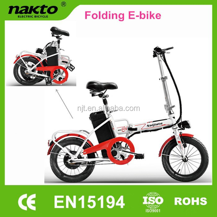 Naijiate Pocket electric bike hot selling in Southeast Asia