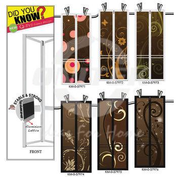 Black Frame Bifold Door,Bi-fold Door,Aluminium Door,Toilet Door ...
