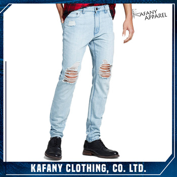 a6d996857 Jeans Supplier In China Men s Butt Lift Jeans Stretch Denim - Slim Tapered  Pant Jeans Washed
