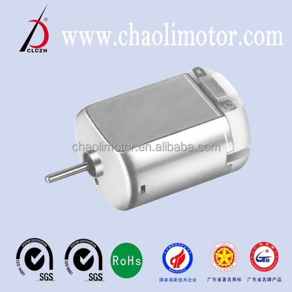 Carbon-brush motor CL-FC280SA for Home appliances, Auto products, Intelligence products