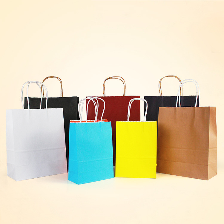 craft printing paper packing bag shopping paper bags