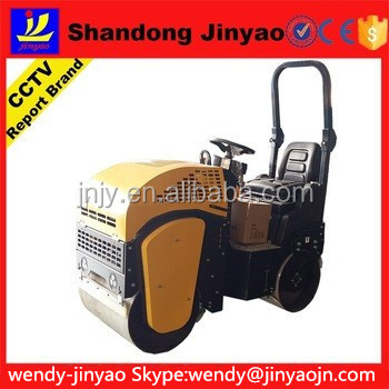 full hydraulic road roller with radiator and oil cooler, 700*560mm wheel size road roller