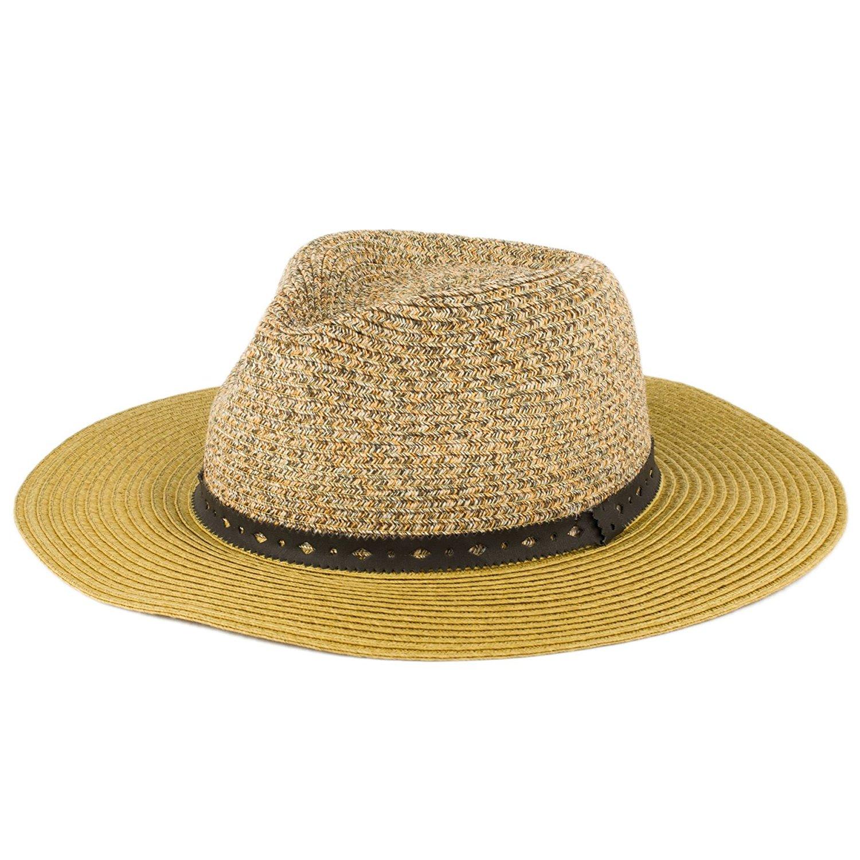 26eecfedb1e Get Quotations · Hat To Socks Wide Brimmed Summer Fedora Hat