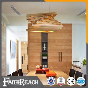Home Indoor Lighting Bent Wood Contemporary Pendants Modern Ceiling Lights