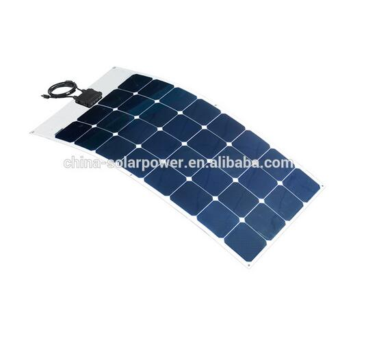 2015 new product 200w flexible solar panel for car or boats