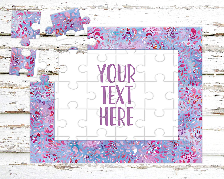 Create Your Own Puzzle Personalized Puzzle Announcement Ideas Wedding Announcement CYOP0108 Pregnancy Announcement Custom Puzzle