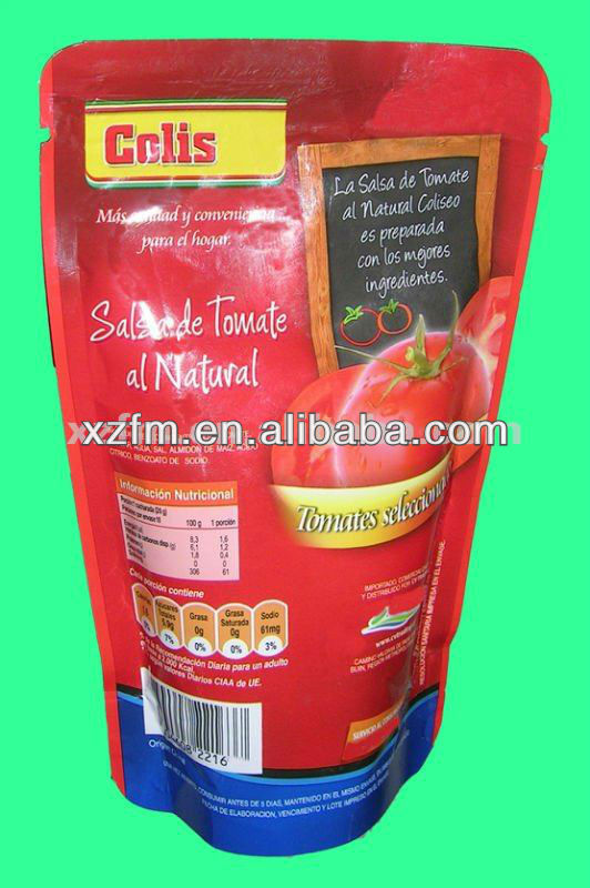 Tomato Paste In Pouch 70g Factory Price