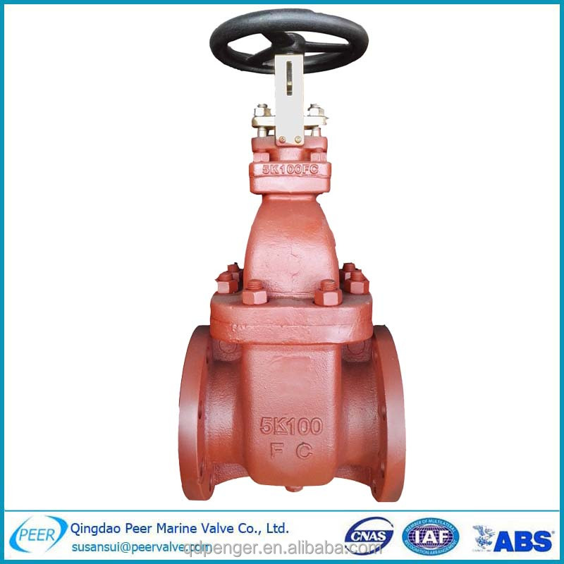 4 Inch Water Gate Valve With Handwheel