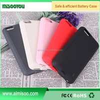 New coming ultra slim backup battery pack cover, power bank case for Iphone 6 6s