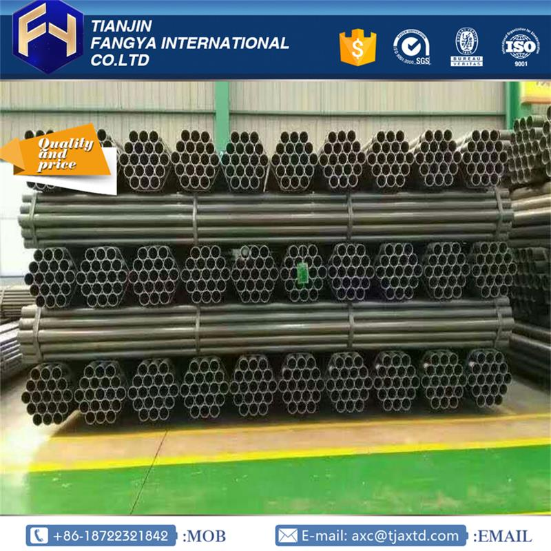 Tianjin Anxintongda ! high quality q235 steel specification q195 erw tube with CE certificate