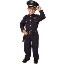 Dress Up America Deluxe Police Costume Set Role Play Kit