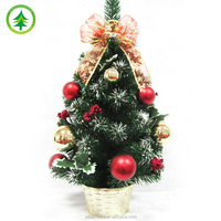 Mini Christmas tree, 2017 New design Hot selling artificial Small christmas tree
