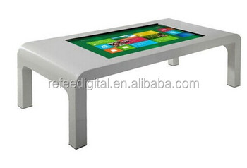 Restaurant Selfservice Android Multi Touch Screen Smart Coffee - Android coffee table