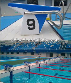 Attirant High Quality PSB03 Starting Block For Swimming Pool
