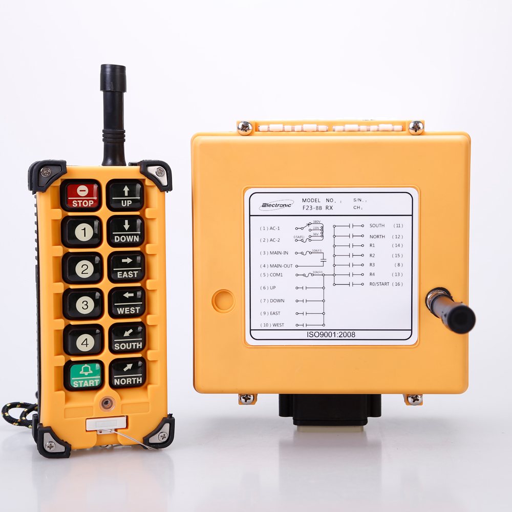 wireless remote control power switch 240v F23-A++Q industrial plug wireless remote controller