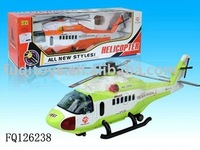 Battery operated airplane