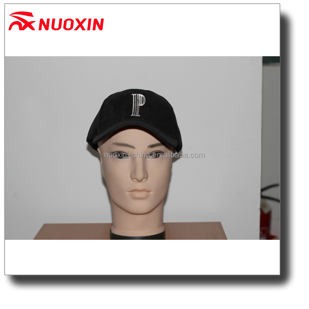 NX hot sale fashion suede embroidery baseball cap women