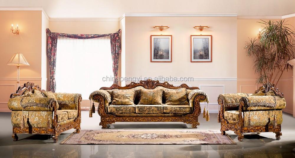 Classique Meubles De Salon Arabe Et Antique De Luxe Salon Canapé Ensembles  Meubles - Buy Meubles De Salon Arabes,Meubles De Salon De Luxe,Meubles De  ...