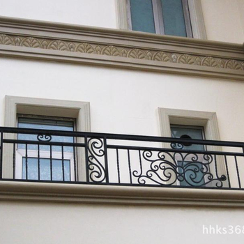 Balcony Balustrade Railings Wrought Iron Terrace Railing Designs In