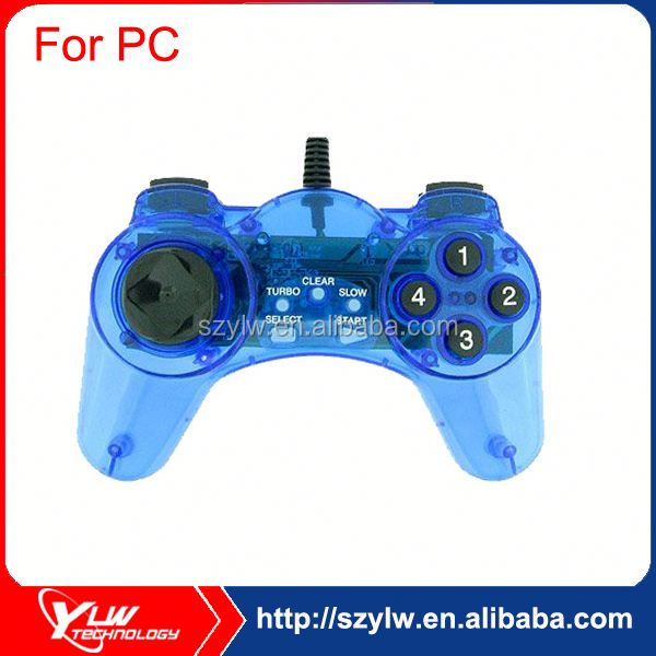 Clear color no vibration game controller