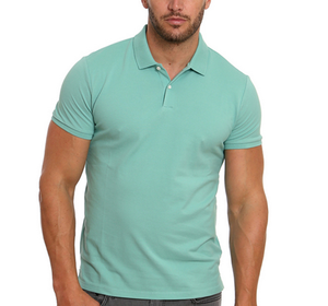 Hot Sale Men's Cotton Polo T Shirt Sports Fitted bangladesh polo shirt