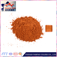 High quality iron oxide type brown pigment red brick coloring