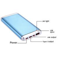 unique products market ac type-c QC3.0 Power Bank