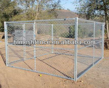 Portable Dog Pens 4ft X 8ft X 6ft(H) With Waterproof Cover