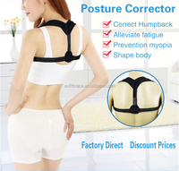 High quality Clavicle Posture Support Brace and Upper Back Posture Corrector for Fractures Improve Posture