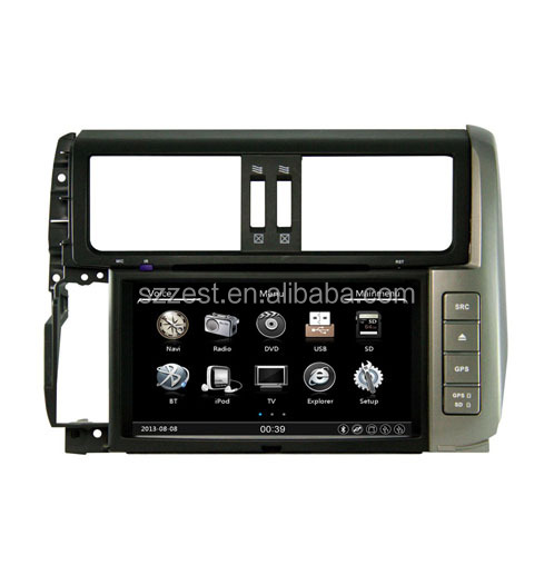 ZESTECH china motorcycles sale factory 2 din radio car accessories for Toyota Prado 2012