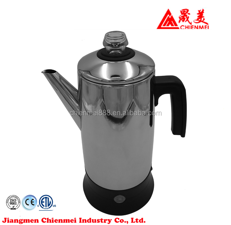 High Quality Stainless Steel Coffee Percolator Electric 7 Cups 220v Australia Hob