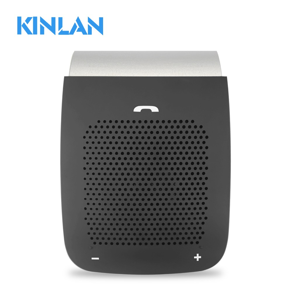 Kinlan amazon best sellers V4.1 wireless <strong>car</strong> speaker <strong>bluetooth</strong> handsfree sun <strong>visor</strong> speaker
