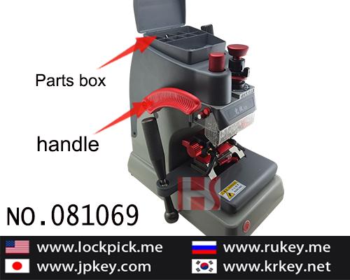 High quality 220V-240V China Jing Ji Tibbe type manual code key cutting machine 081065
